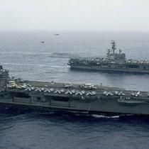 Tin tặc Trung Quốc tấn công tàu sân bay Mỹ ở biển Đông