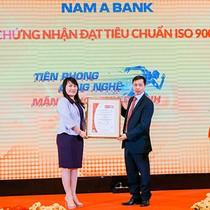 Nam A Bank đạt chứng nhận tiêu chuẩn ISO 9001:2015