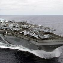 Nhóm tác chiến tàu sân bay Mỹ bắt đầu tuần tra ở Biển Đông