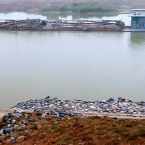 Đoạn sông nóng vì nạo vét cát ở Bắc Ninh