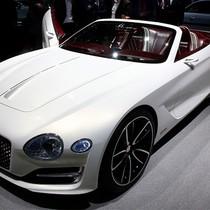 Mẫu xe mui trần chạy bằng điện đầu tiên của Bentley