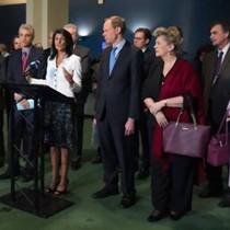 Mỹ khơi mào tẩy chay đàm phán Liên Hiệp Quốc về cấm vũ khí hạt nhân