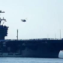 Tàu sân bay Mỹ sắp đến gần bán đảo Triều Tiên