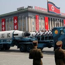 Tên lửa Triều Tiên nổ tung sau khi phóng