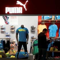 Puma bị phạt ở Trung Quốc vì vi phạm logo công ty nội địa