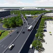 [Video] Cầu vượt vào sân bay Tân Sơn Nhất sẽ xong sớm 2 tháng