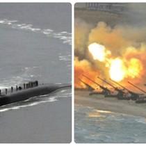 Thế giới 24h: Tàu ngầm hạt nhân Mỹ đến Hàn Quốc, Triều Tiên diễn tập pháo binh quy mô lớn