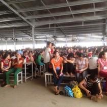 Gần 1.000 công nhân Công ty TNHH ANTONIA Việt Nam đình công