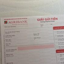 Hàng chục sổ tiết kiệm Agribank nghi bị làm giả