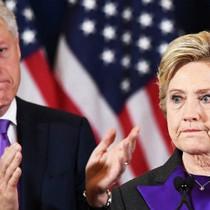 Cuộc gặp của chồng góp phần vuột mất chiến thắng của Hillary Clinton