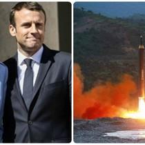 Thế giới 24h: Tân tổng thống Pháp tuyên thệ nhậm chức, Triều Tiên công bố hình ảnh vụ phóng tên lửa