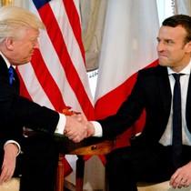 """Ông Trump ca ngợi chiến thắng """"kỳ vĩ"""" của Tổng thống Macron"""