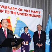 Thủ tướng dự Lễ kỷ niệm 40 năm ngày Việt Nam gia nhập Liên hợp quốc