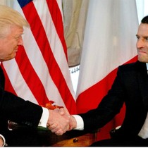 Thế đối đầu của tân Tổng thống Pháp Macron với ông Trump