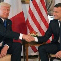 Tổng thống Trump - Macron nhất trí phối hợp nếu Syria dùng vũ khí hoá học