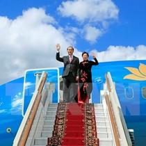 Chủ tịch nước bắt đầu chuyến thăm chính thức Liên bang Nga