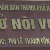 """Sở Nội vụ Hà Nội có 8 phó giám đốc """"do chính sách cán bộ"""""""