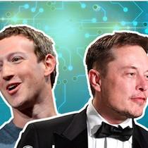 Cuộc khẩu chiến ồn ào giữa Mark Zuckeberg và Elon Musk