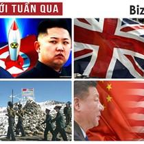 """Thế giới tuần qua: """"Khẩu chiến"""" Mỹ - Triều, căng thẳng biên giới Ấn Độ - Trung Quốc"""