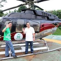Grab muốn dùng trực thăng để giảm tắc đường