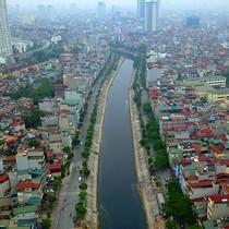 """Những tuyến phố """"lột xác"""" bên dòng sông ô nhiễm ở Hà Nội"""