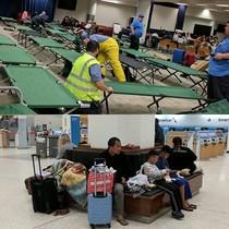 Người Việt ở Houston chống chọi lũ lụt do bão Harvey