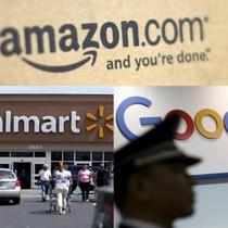 Walmart bắt tay Google đấu với Amazon