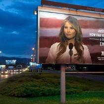 Melania dọa kiện trường dùng hình ảnh bà quảng cáo học tiếng Anh