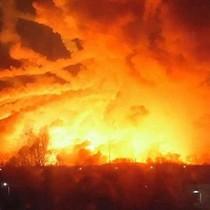 Kho chứa 188.000 tấn đạn phát nổ, 70.000 người Ukraine sơ tán