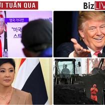 """Thế giới tuần qua: Ông Trump """"cấm cửa"""" công dân Triều Tiên, tướng Nga tử trận ở Syria"""