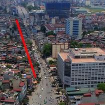 """Hà Nội giải tỏa 260 hộ dân để mở nút thắt trên """"đường cong mềm mại"""""""