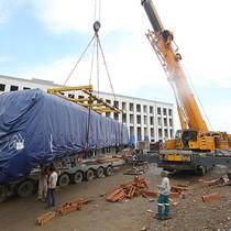 Các đoàn tàu được lắp đặt trên đường sắt Cát Linh - Hà Đông