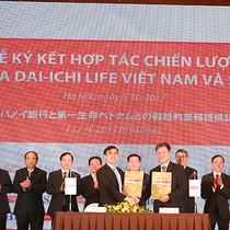 Dai-ichi Life Việt Nam và SHB ký kết hợp tác chiến lược dài hạn