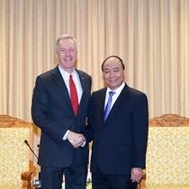 Đại sứ Mỹ Ted Osius gặp Thủ tướng chào từ biệt
