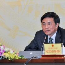 Đang xem xét tư cách đại biểu Quốc hội của Phó bí thư Đồng Nai