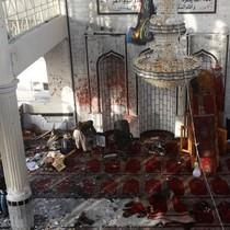 IS đánh bom thánh đường Hồi giáo ở Afghanistan, 72 người chết