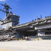 Tàu sân bay hạt nhân Mỹ đến đảo Guam