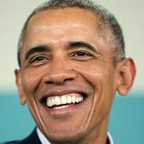 [Video] Khán giả bật cười khi ông Obama nói đùa sinh ra ở Kenya