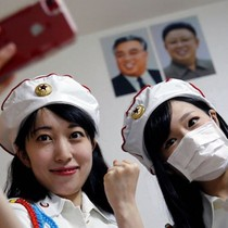 Những cô gái hâm mộ Triều Tiên ở Nhật Bản