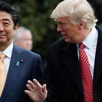 Thủ tướng Abe đặt nhà hàng bít tết cho bữa tối cùng Tổng thống Trump