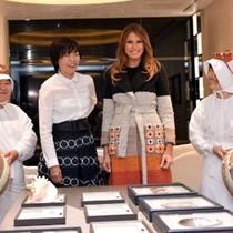 Đệ nhất phu nhân Mỹ, Nhật cùng đi ngắm ngọc trai
