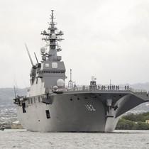 Nhật điều tàu sân bay trực thăng tới tập trận gần Triều Tiên