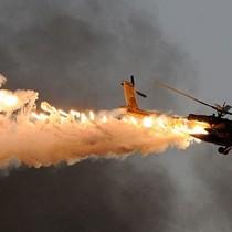 Trúng tên lửa phiến quân, trực thăng Syria bốc cháy giữa không trung