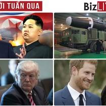 """Thế giới tuần qua: Triều Tiên khiến các nước lớn """"dậy sóng"""" khi thử tên lửa """"kỷ lục"""""""