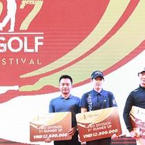 Giải gôn truyền thống 2017 BRG Golf Hà Nội Festival kết thúc thành công trong niềm vui hứng khởi