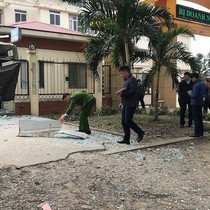 Bắt giữ 4 nghi phạm dùng mìn nổ cây ATM để lấy tiền