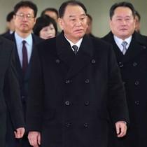 Phái đoàn Triều Tiên đến Hàn Quốc dự bế mạc Olympic