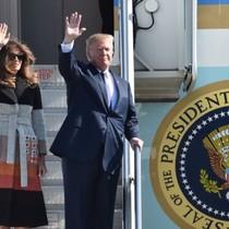 Tổng thống Trump tới Nhật, sát cánh cùng đồng minh