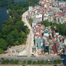Đường cong 600m giữa Thủ đô làm gần 20 năm chưa xong