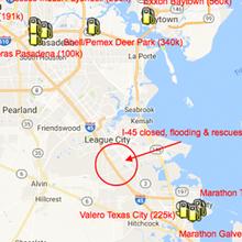 Nhiều nhà máy lọc dầu lớn đóng cửa vì siêu bão Harvey